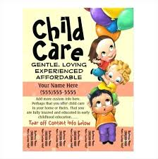 Samples Of Daycare Flyers Daycare Open House Flyer Template Traveleesi Com