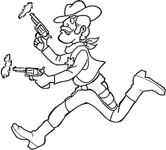 Adult Cowboy Coloring Pages Western Cowboy Coloring Pages Cowboy
