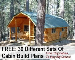 30 Free DIY Cabin Blueprints