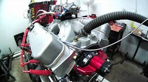 Borowski Built 498 Cubic Inch Big Block Chevy - YouTube