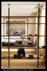 Wonderful room-dividing book shelf. I want this.