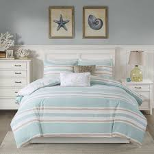 harbor house ocean reef duvet cover king size teal coastal duvet cover set 5 piece 100 cotton light weight bed comforter covers souq uae