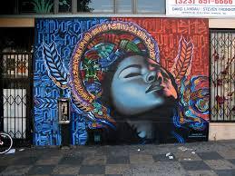 spraypaint acrylic on brick los  on wall mural artist los angeles with the 50 greatest los angeles graffiti street art los angeles dream