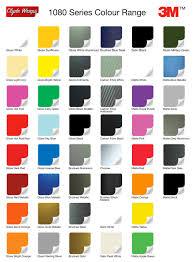 3m Stripe Chart 3m Scotchcal Striping Tape Color Chart Www