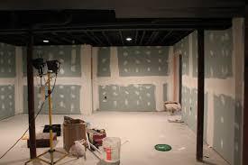 painted basement ceiling. painted basement ceiling