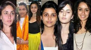 shocking top 18 bollywood actresses with makeup and without makeup wele to get big ideas