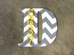 font craft slab used as part of a house number monogram craftcuts