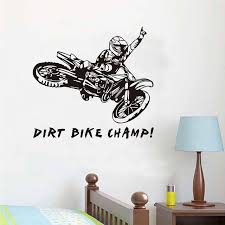 Aliexpress Buy Funny Quotes Dirt Bike Champ Motorcycle Rider Custom Dirt Bike Quotes