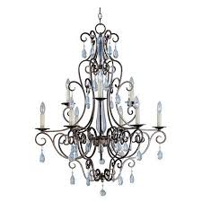 get ations wistaria lighting hampton 9 light chandelier