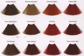 Find Best Shade For Your Skin Tone Red Hair Color Chart