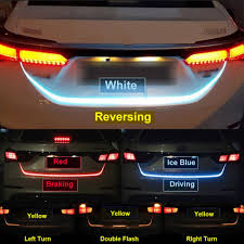 How To Install Flex Led Lights In Car Additional Stop Light Flexible Tailgate Led Strip Trunk Tail