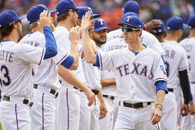 arlington tx march 29 tim lince 44 of the texas rangers is