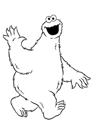 Small Picture Cookie Monster Coloring Pages Coloring Coloring Pages
