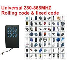 chamberlain universal remote er control klik3u garage door opener battery