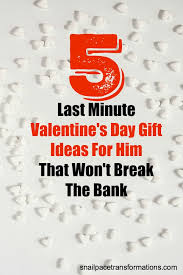 5 last minute thrifty valentine s day gift ideas for men these gifts ideas will be