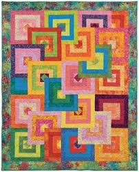 Hyacinth Quilt Designs: Modern Courthouse Steps-courthouse block ... & Hyacinth Quilt Designs: Modern Courthouse Steps-courthouse block turned  into a quilt, simple quilting using serpentine stitch on sewing machine. Adamdwight.com