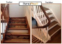 Bodenleisten für treppen und absätze. Laminat Auf Treppen Verlegen Treppenrenovierung Treppenstufen Mit Laminat Belegen