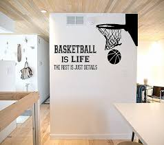 M Basketball Bedroom Decor Wall Decals For Bedrooms Elegant Palm  Tree