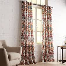 panel curtains living room loading zoom