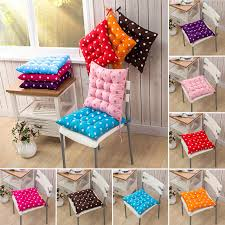 dining chair cushions with ties fortable seat pads garden kitchen tie on 3
