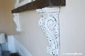 corbels for wooden shelf at u create