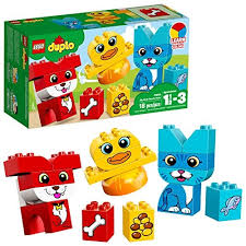 LEGO DUPLO My First Puzzle Pets 10858 Building Blocks (18 Piece) The best gifts for 1-year-olds from our 2018 gift guide