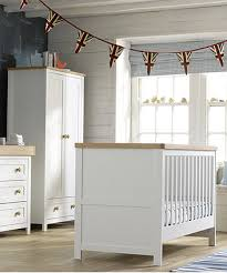 gray nursery furniture. mothercare lulworth 3piece nursery furniture set classic white gray t