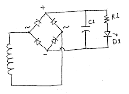 simple torch circuit diagram simple image wiring shake flashlight on simple torch circuit diagram