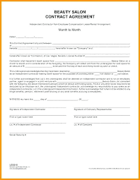 Simple Contractor Agreement Template Agreement Template Free Independent Contractor Simple Self