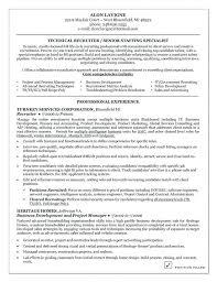 Corporate Recruiter Resume Sample Volunteer Recruiter Resume Army