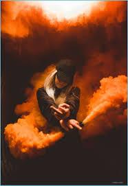 HD Wallpaper: Smoke Bomb, Middle Finger ...