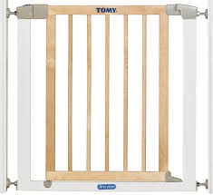 the first years tomy pressure fit wood metal gate t72091