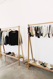 Portable Closet Rod Bedroom Furniture Metal Clothes Rack Rack For Clothes Portable