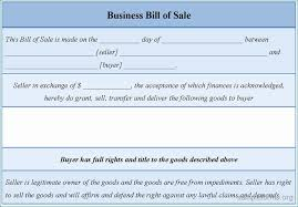Bill Of Sale For Business Bill Of Sale For Business Purchase Decent Free Sample Bill Of Sale