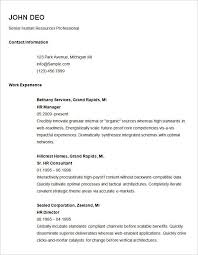 examples of a simple resume simple resume sample for job gentileforda com