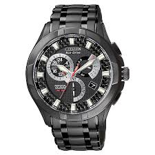 citizen eco drive men s black chronograph watch ernest jones citizen eco drive men s black chronograph watch product number 8199795