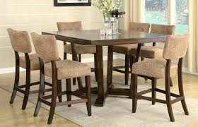 modern pub table. Pub Dining Table Sets Espresso Finish Modern Set Height And E