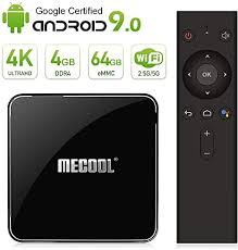 <b>Mecool KM3</b> TV BOX Android 9.0 4K TV BOX/ Voice remote ...