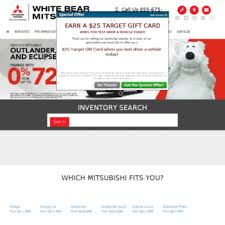 Whitebearmitsubishi Com At Wi Mitsubishi Dealer In White Bear Lake
