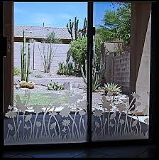 etched glass patio doors