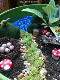 Small Picture 190 best Fairy Gardens Worlds Fairies images on Pinterest