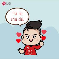 Loạt hình chibi đầy cute của Quang... - Nguyễn Quang Hải FC