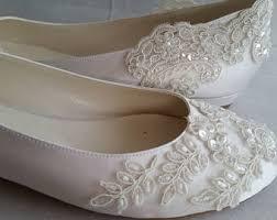 flat wedding shoes etsy Wedding Shoes Handmade wedding shoes, wedding flat ivory flat, handmade lace ivory flat wedding shoes designed wedding shoes handmade