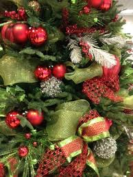 Images Of Classic Christmas Trees  Google Search  Christmas Red Silver And White Christmas Tree