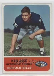 1962 Fleer - [Base] #17 - Ken Rice [Good to VG-EX]