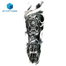 Full Arm Temporary Tattoo Sticker Women Mens Custom Large Full Leg Simulation Tattoo Sleeve Buy Tattoo Stickerfull Arm Temporary Tattoo