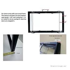 install fireplace door bi fold glass fireplace door easy to install fits x inch opening fits install fireplace door