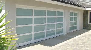 glass garage doors and installation