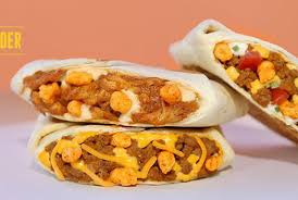 taco bell crunchwrap sliders.  Sliders Taco Bell Canada Cheetos Crunchwrap Sliders  With D