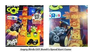 Angry Birds Go Jenga Bomb's Speed Kart Game Hasbro Boy Girl Toy ...
